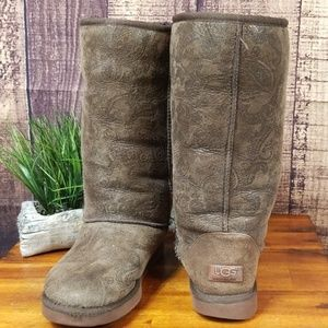 Ugg Classic Tall Paisley Boots
